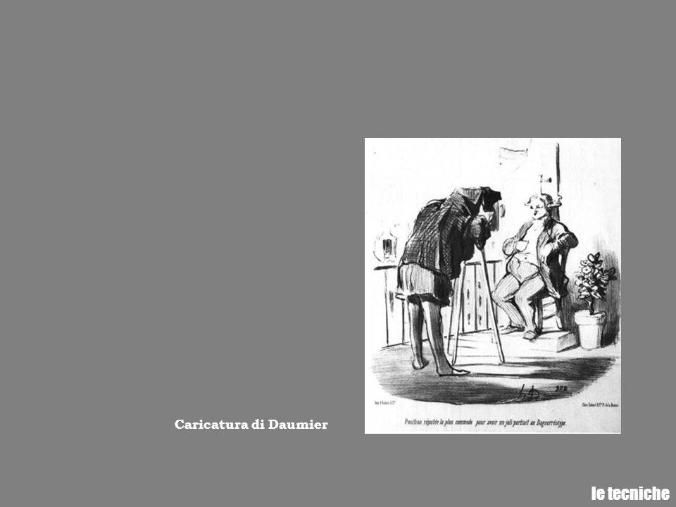 Caricatura di Daumier le tecniche