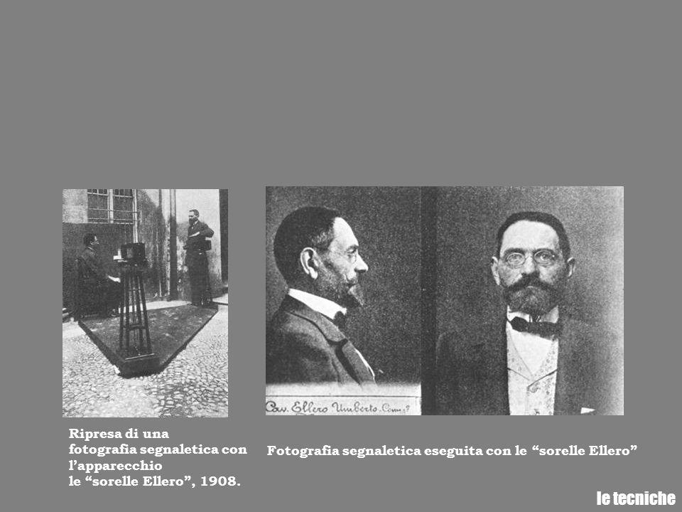 le tecniche Ripresa di una fotografia segnaletica con l'apparecchio
