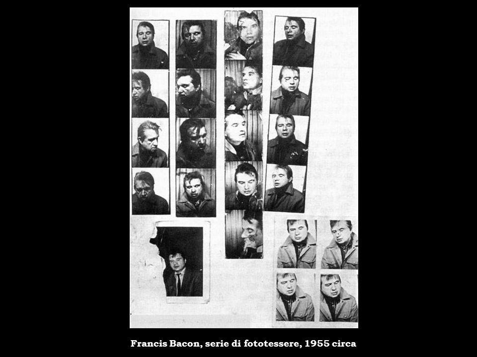 Francis Bacon, serie di fototessere, 1955 circa