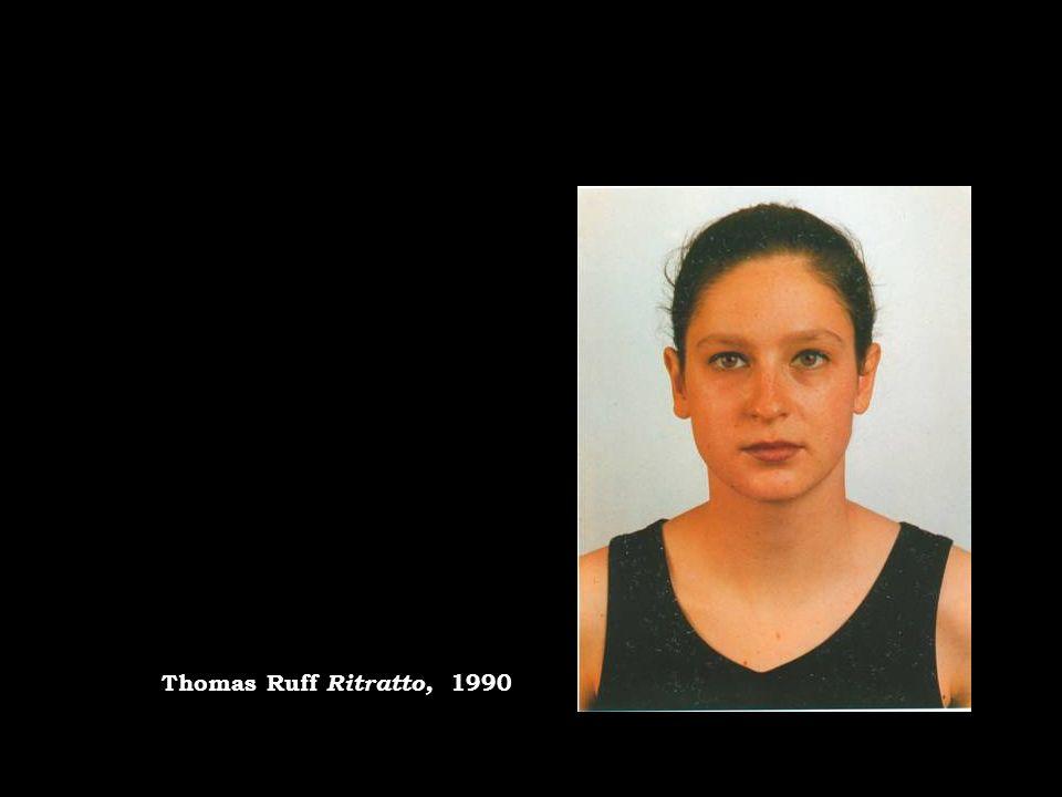 Thomas Ruff Ritratto, 1990