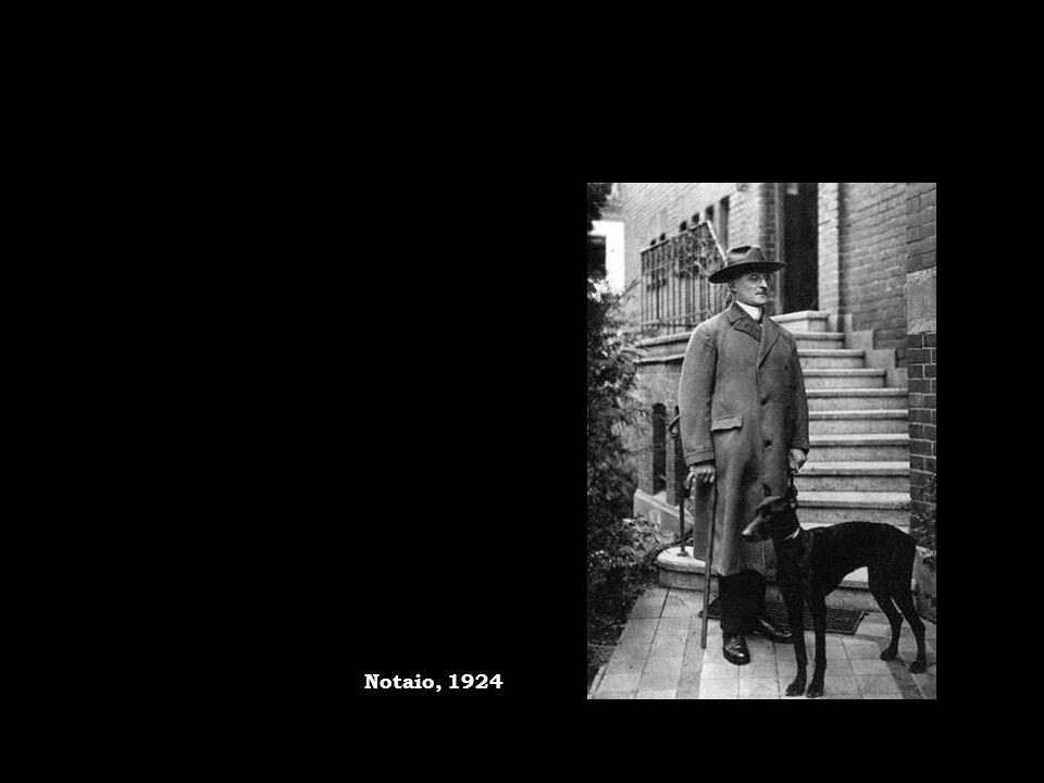 Notaio, 1924