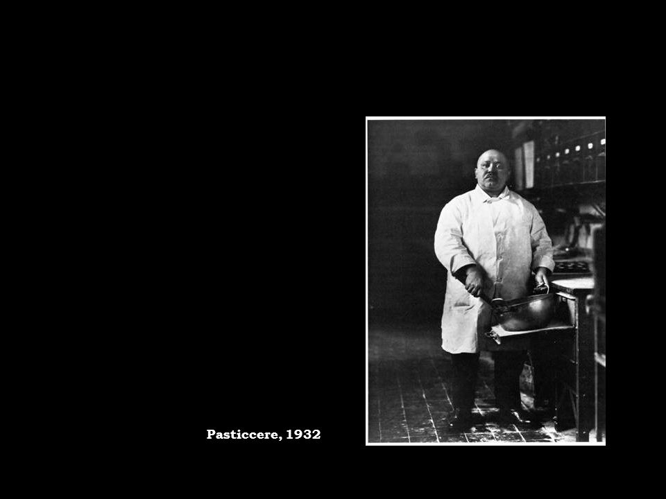 Pasticcere, 1932