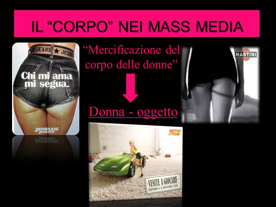 IL CORPO NEI MASS MEDIA