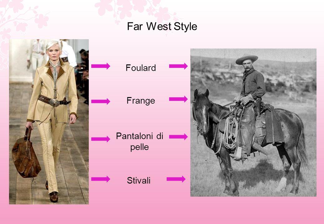 Far West Style Foulard Frange Pantaloni di pelle Stivali