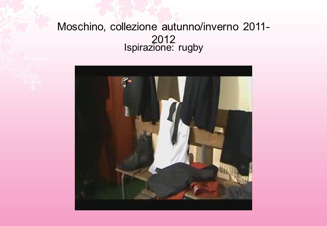 Moschino, collezione autunno/inverno 2011-2012