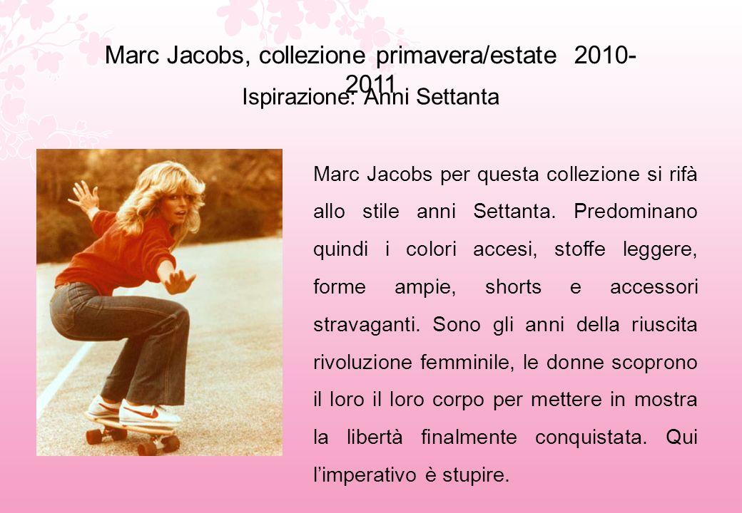 Marc Jacobs, collezione primavera/estate 2010-2011