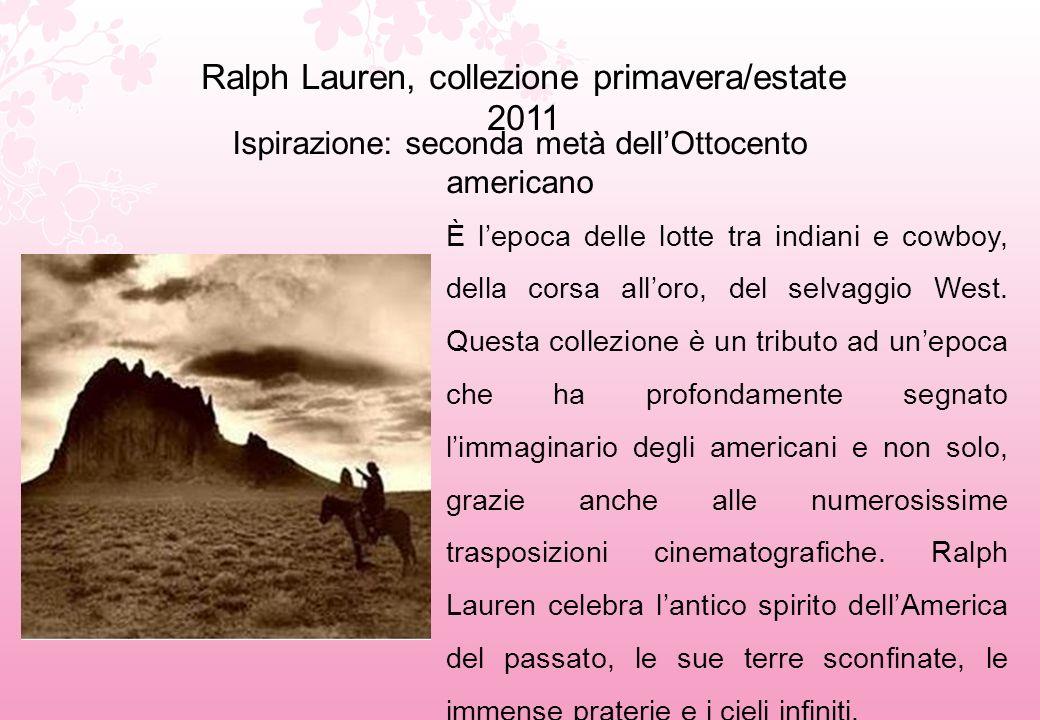 Ralph Lauren, collezione primavera/estate 2011