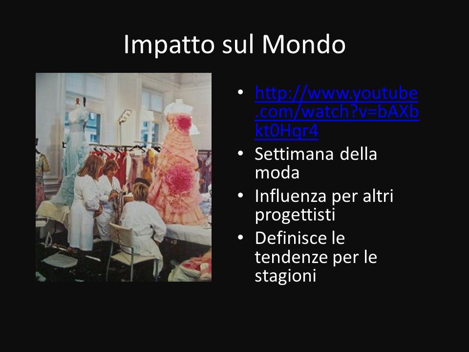 Impatto sul Mondo http://www.youtube.com/watch v=bAXbkt0Hqr4