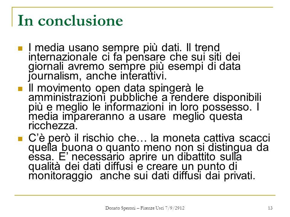 Donato Speroni – Firenze Usci 7/9/2912
