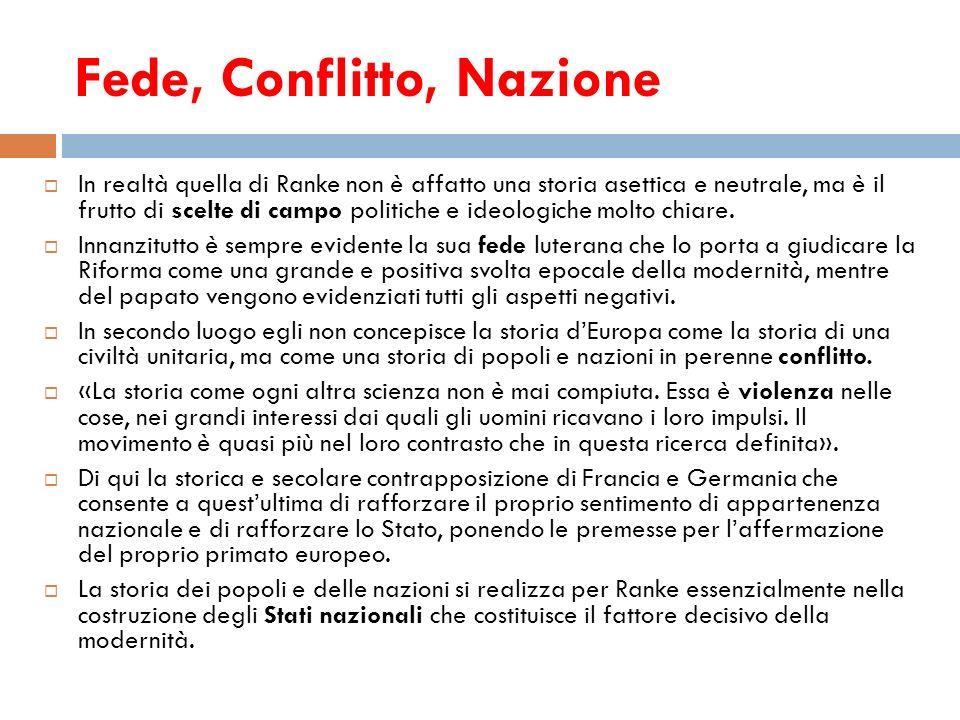 Fede, Conflitto, Nazione