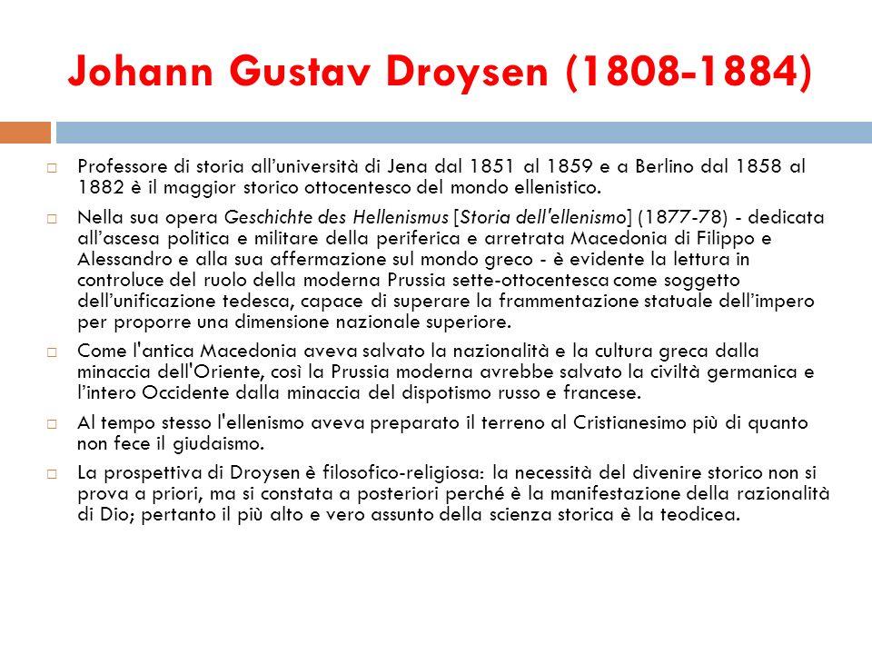 Johann Gustav Droysen (1808-1884)
