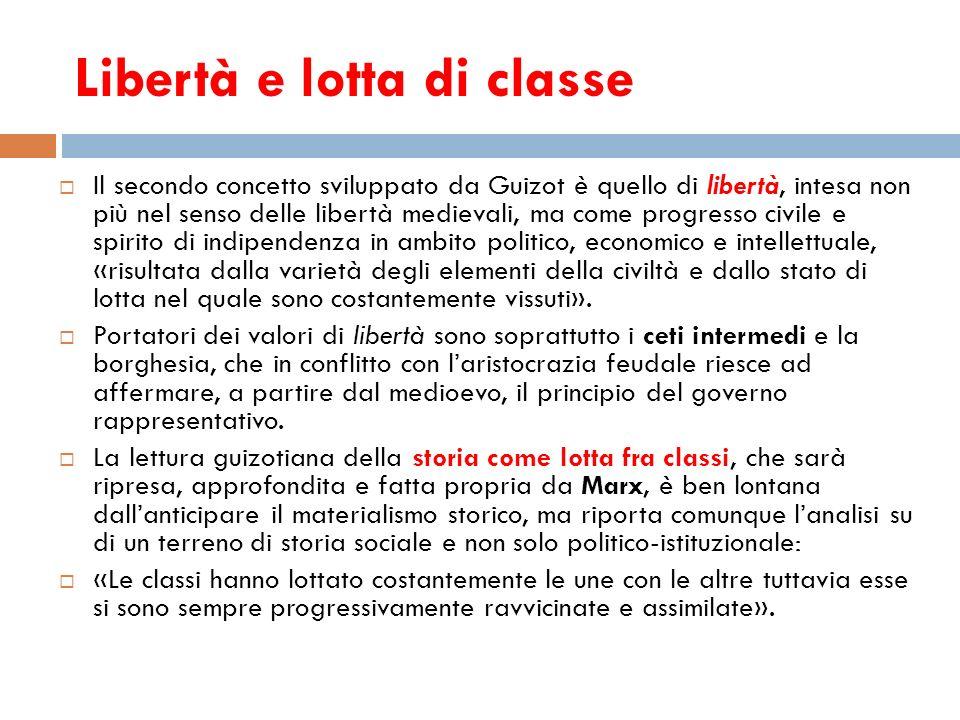 Libertà e lotta di classe