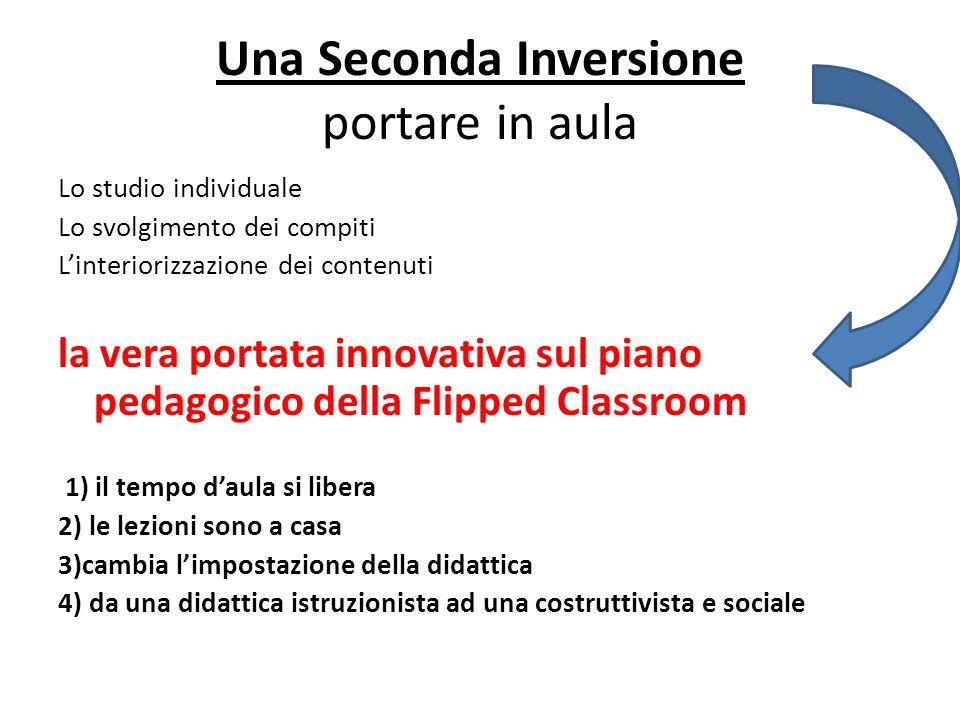 Una Seconda Inversione portare in aula