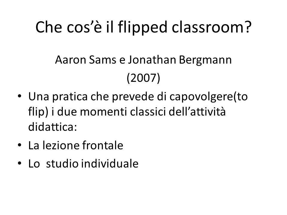 Che cos'è il flipped classroom