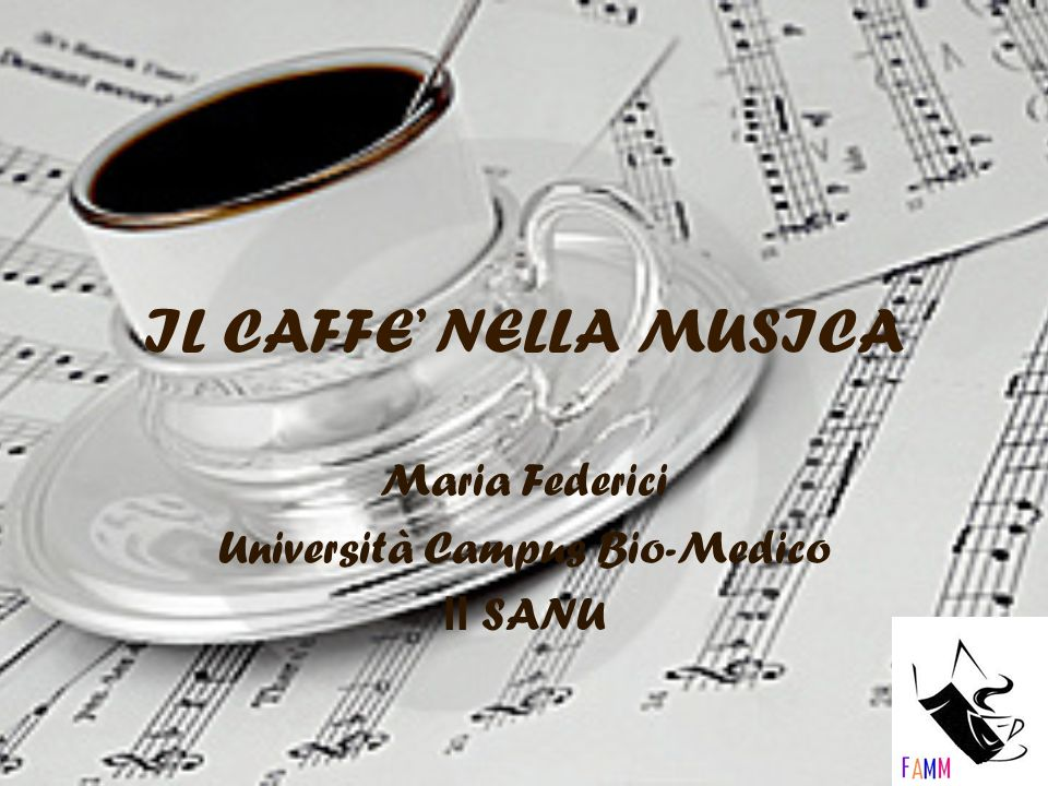 Maria Federici Università Campus Bio-Medico II SANU