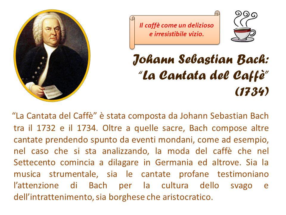 Johann Sebastian Bach: La Cantata del Caffè (1734)