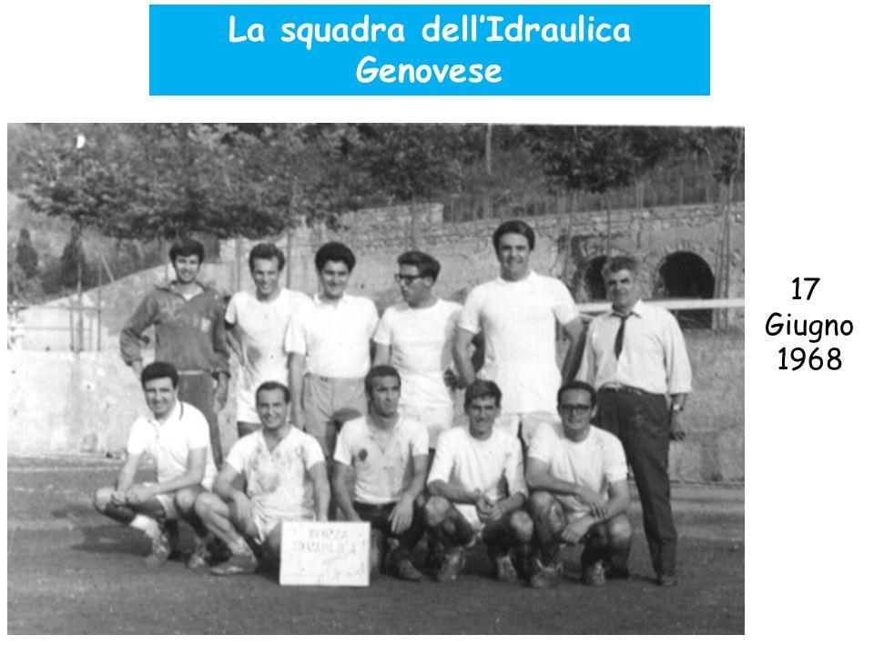 La squadra dell'Idraulica Genovese