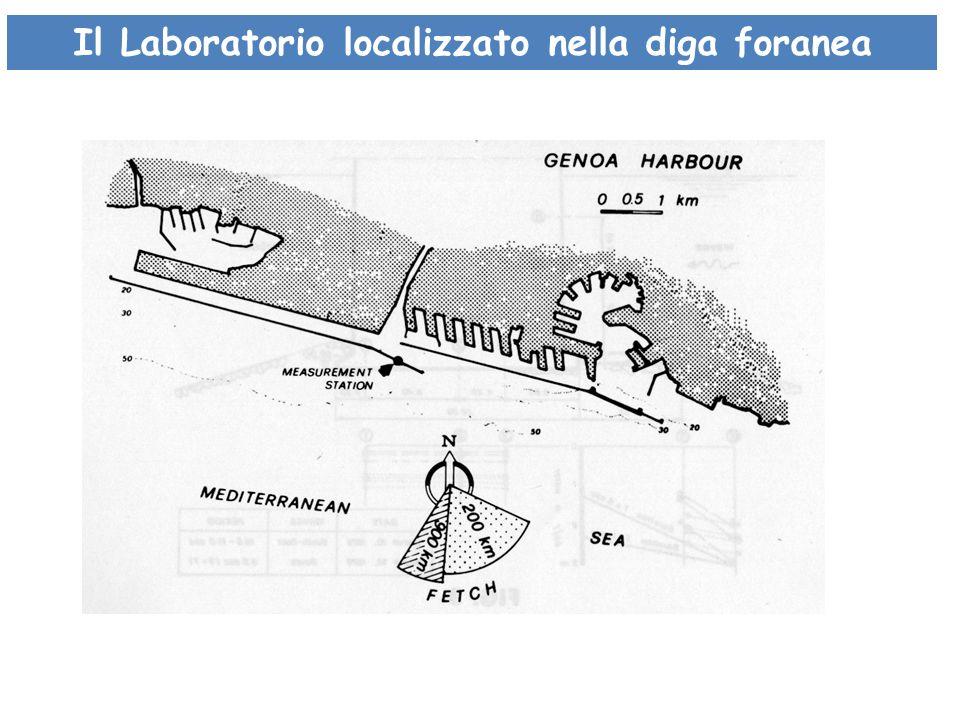 Il Laboratorio localizzato nella diga foranea