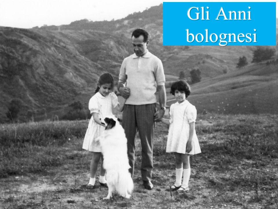 Gli Anni bolognesi Cominciando dai primi anni della Sua attività, gli anni Bolognesi.