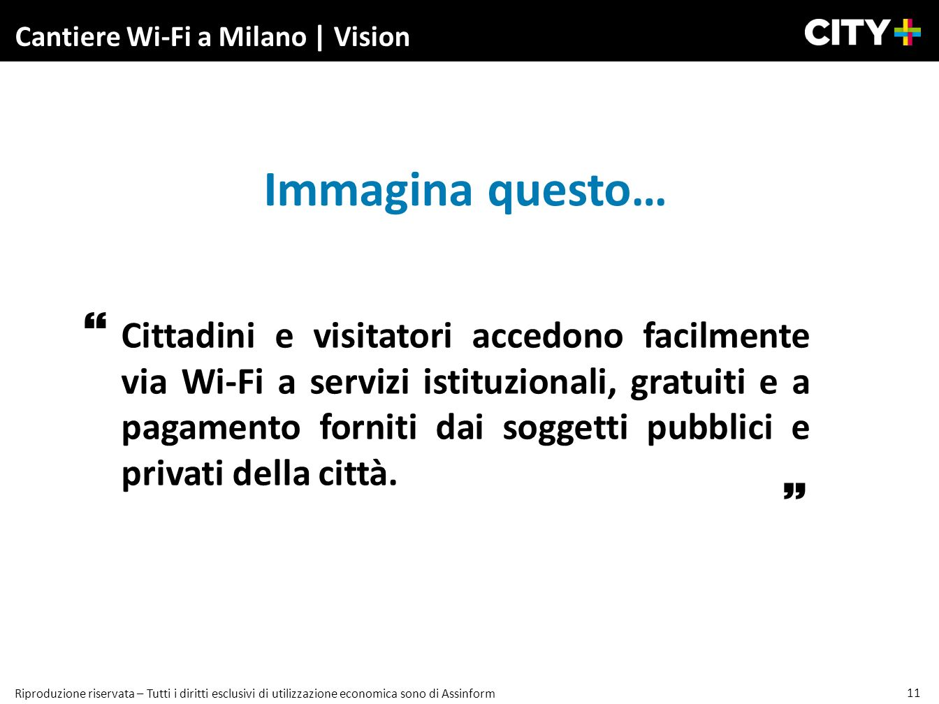 Cantiere Wi-Fi a Milano | Vision