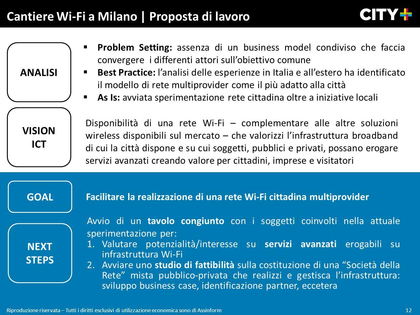 Cantiere Wi-Fi a Milano | Proposta di lavoro