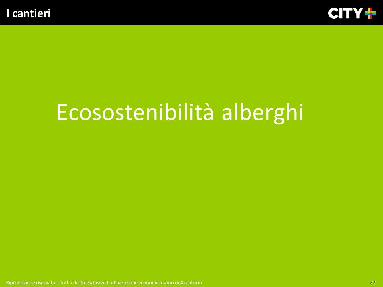 Ecosostenibilità alberghi