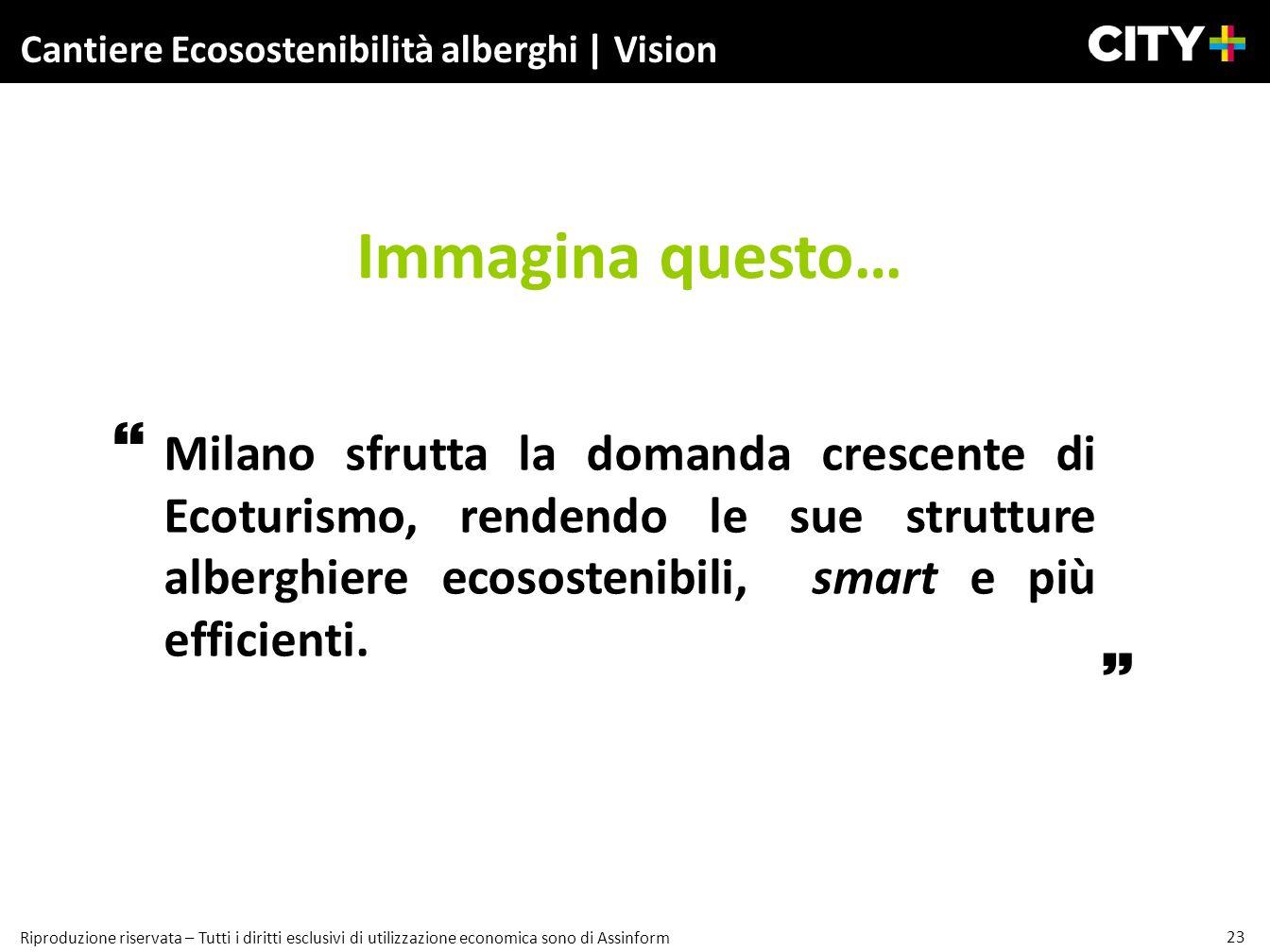 Cantiere Ecosostenibilità alberghi | Vision