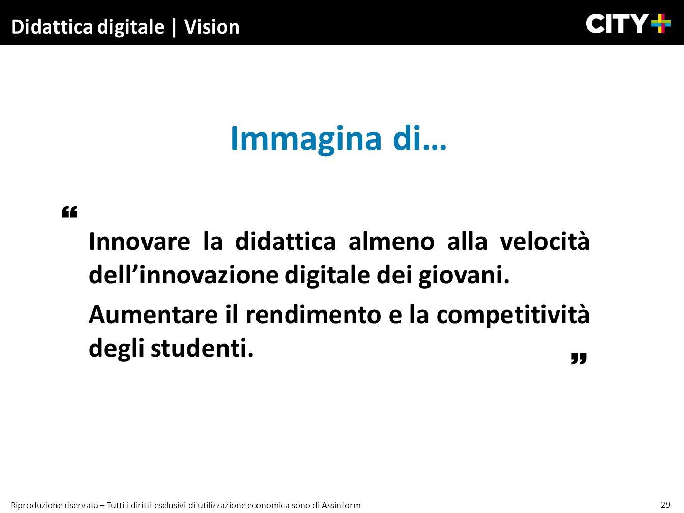 Didattica digitale | Vision