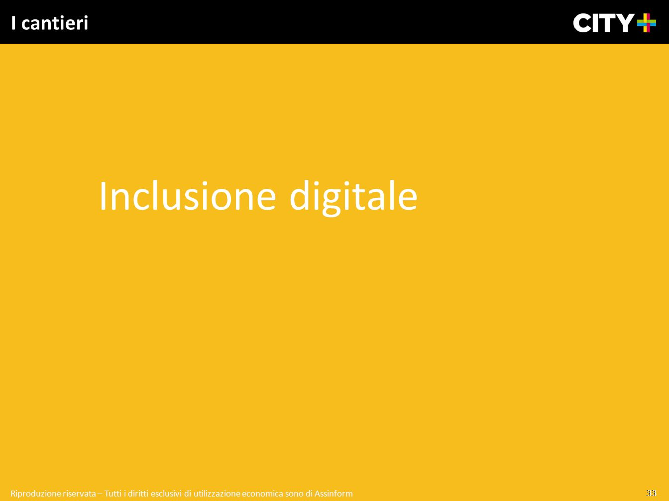 Inclusione digitale I cantieri 33