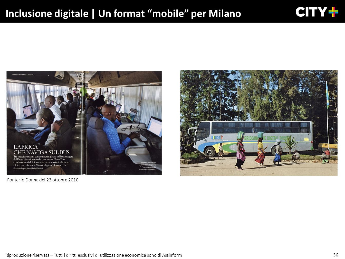 Inclusione digitale | Un format mobile per Milano
