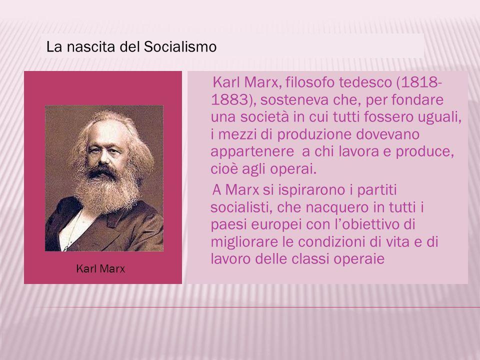 La nascita del Socialismo