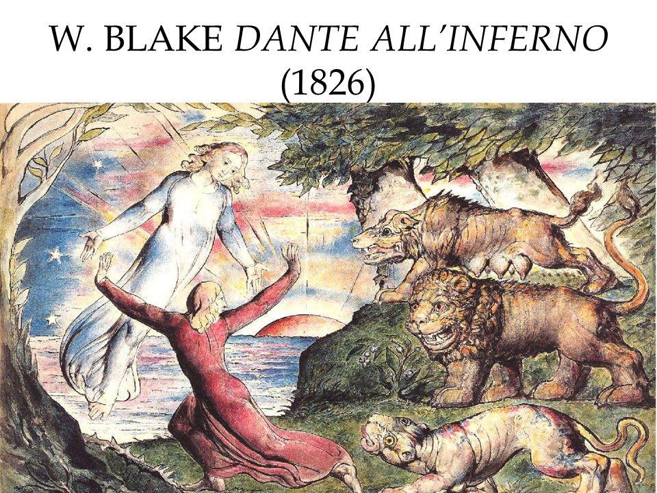 W. BLAKE DANTE ALL'INFERNO (1826)