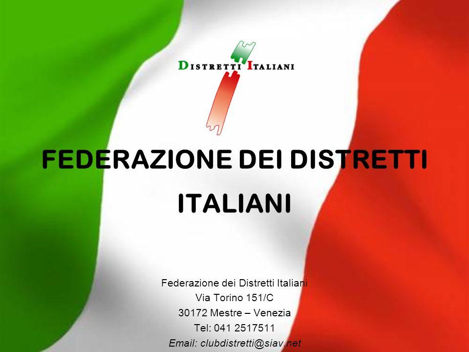 FEDERAZIONE DEI DISTRETTI ITALIANI