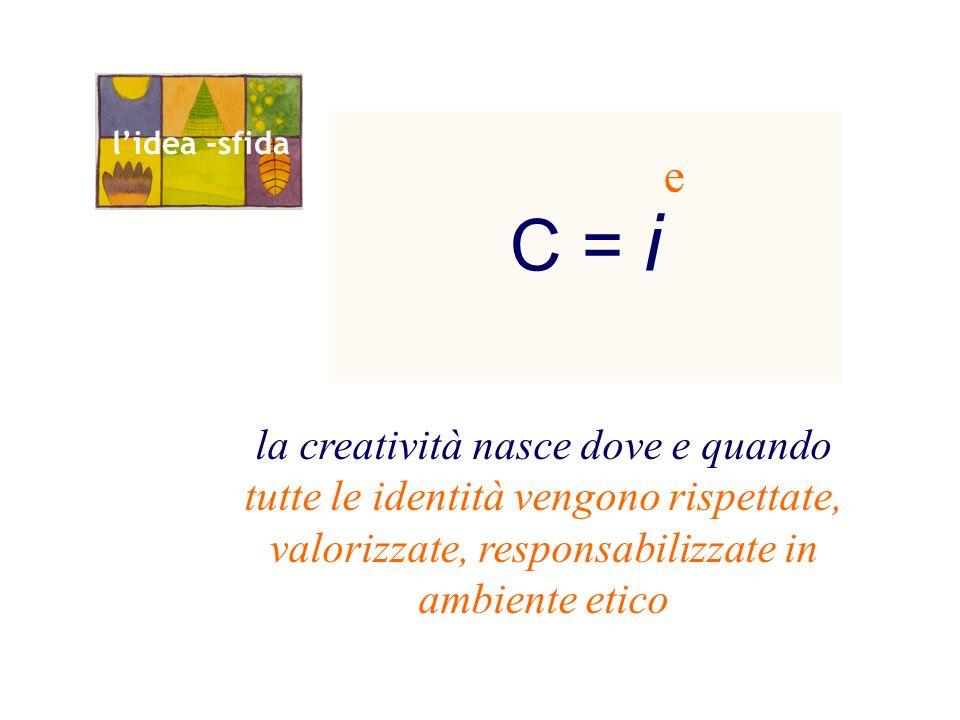 C = i l'idea -sfida. e.