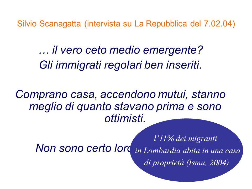 Silvio Scanagatta (intervista su La Repubblica del 7.02.04)