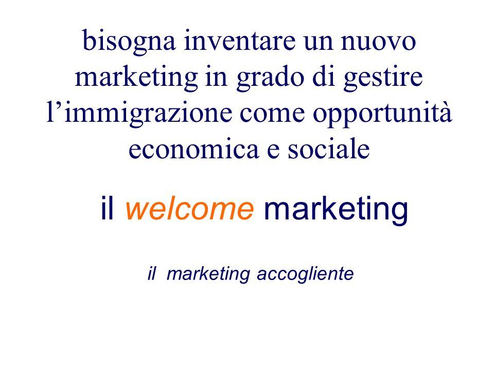 il marketing accogliente