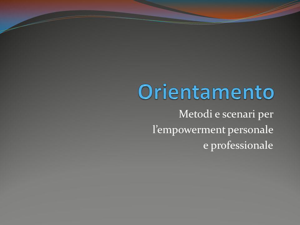 Metodi e scenari per l'empowerment personale e professionale