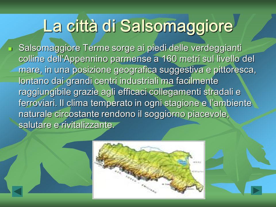 La città di Salsomaggiore