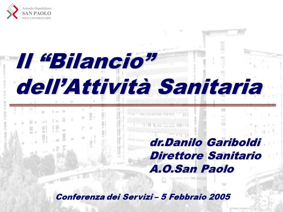 Conferenza dei Servizi – 5 Febbraio 2005