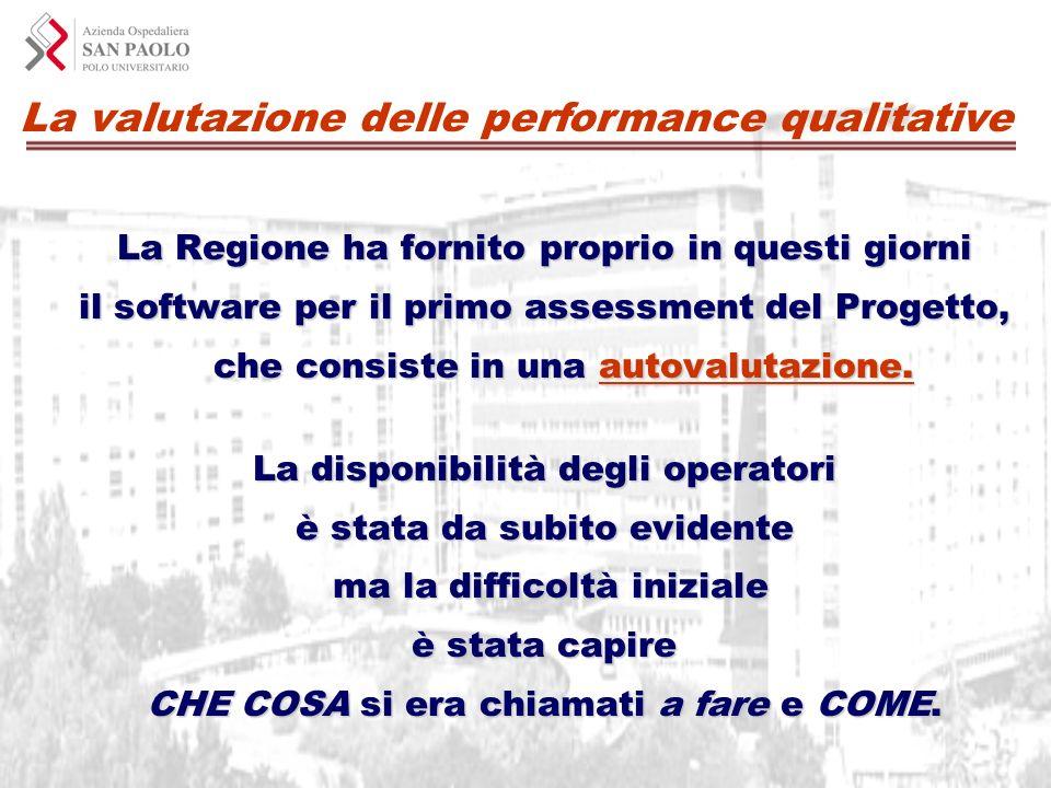 La valutazione delle performance qualitative