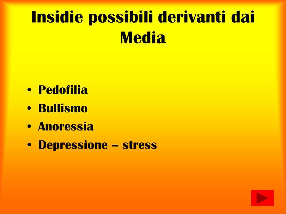 Insidie possibili derivanti dai Media