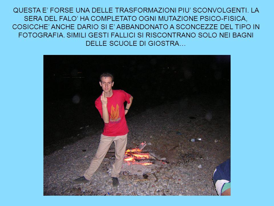 QUESTA E' FORSE UNA DELLE TRASFORMAZIONI PIU' SCONVOLGENTI