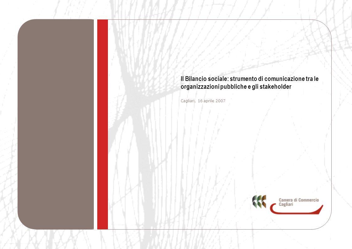 Il Bilancio sociale: strumento di comunicazione tra le organizzazioni pubbliche e gli stakeholder