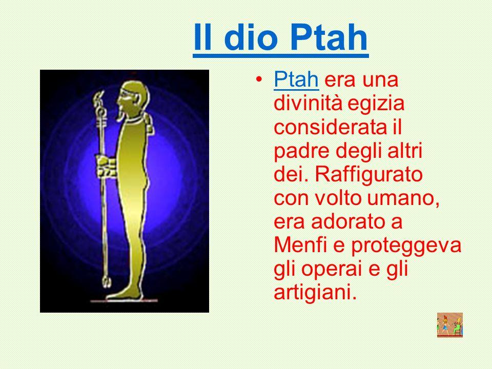 Il dio Ptah