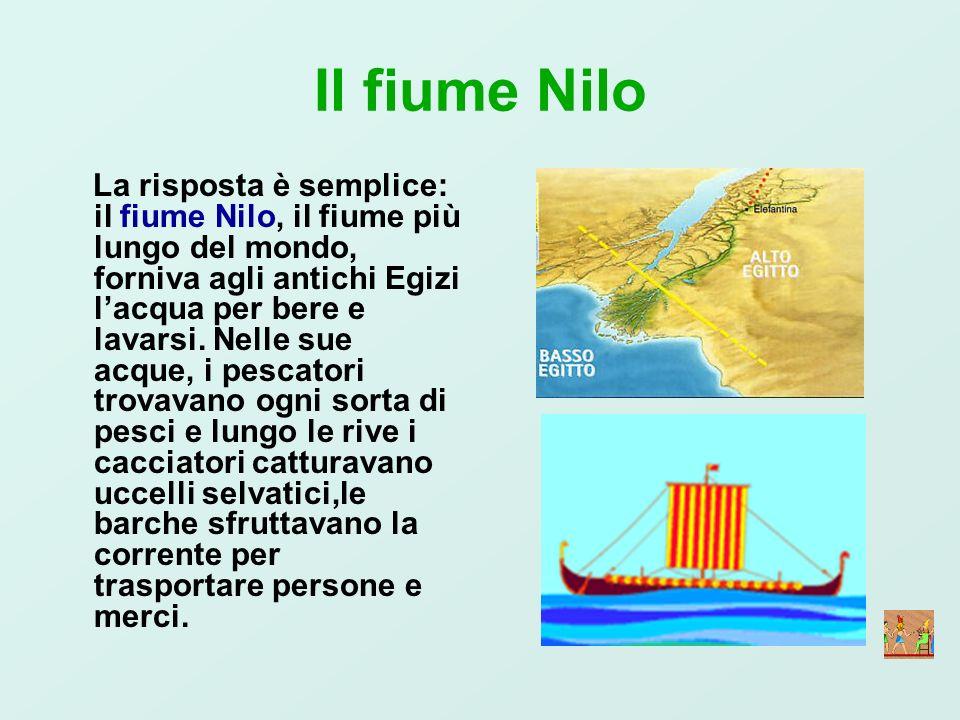 Il fiume Nilo