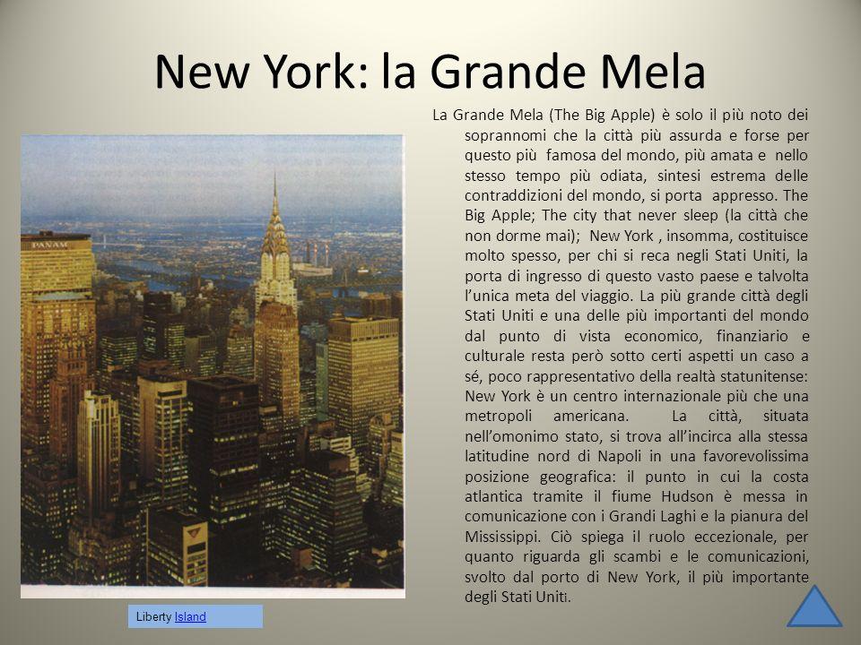 New York: la Grande Mela