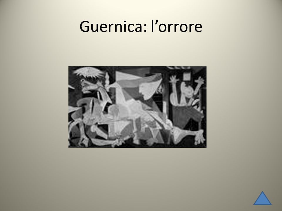Guernica: l'orrore