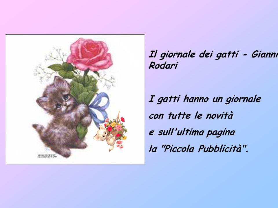 Il giornale dei gatti - Gianni Rodari