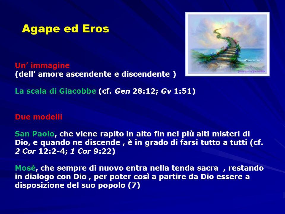 Agape ed Eros Un' immagine (dell' amore ascendente e discendente )