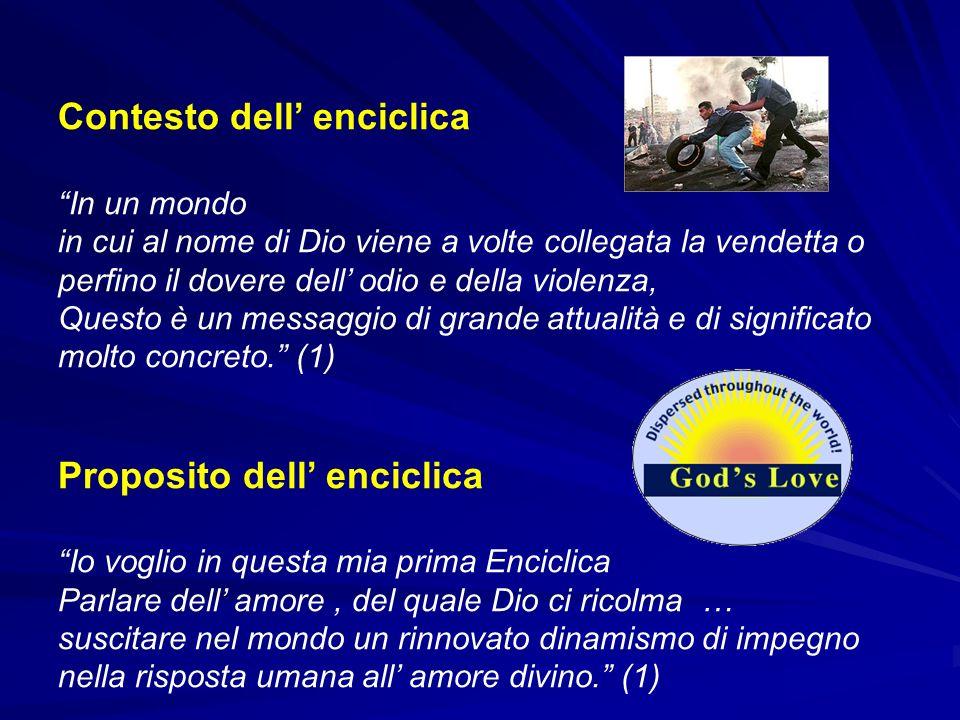 Contesto dell' enciclica